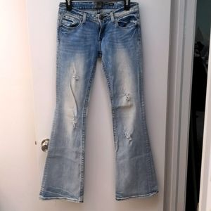 REROCK for Express Flare light washed Jeans